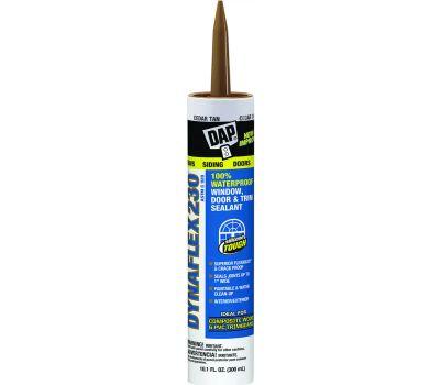Dap 18412 Dynaflex 10 Ounce Cedar Tan Latex Sealant