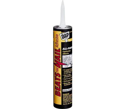 Dap 25082 Construction Adhesive, Gray, 10.3 Ounce Tube