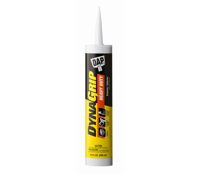 Dap 27509 Dynagrip Construction Adhesive, off-White, 10 Ounce Cartridge
