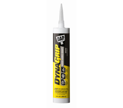 Dap 27522 Construction Adhesive, Paste, Slight, White, 9 Ounce
