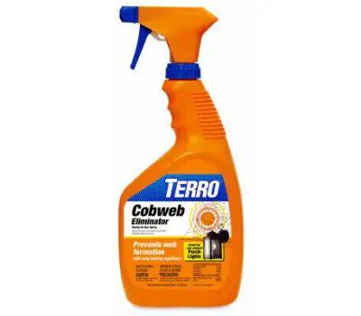 Terro T2360 Cobweb Eliminator, Liquid, Vinegar Like, 1 Qt Bottle