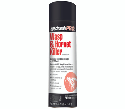 Spectrum HG-30110 Spectracide Wasp and Hornet Killer, Liquid, Spray Application, 18 Ounce Aerosol Can