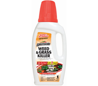 Spectrum HG-56009 Spectracide Weed and Grass Killer, Liquid, Amber, 40 Fl-Oz Bottle