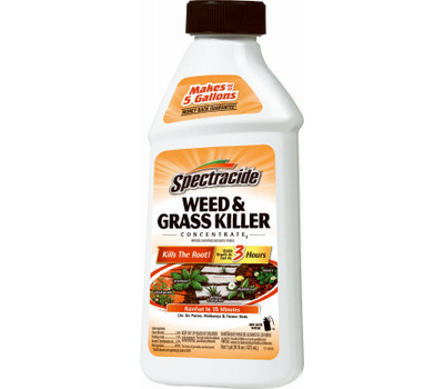 Spectrum HG-66001 Spectracide Weed and Grass Killer, Liquid, Amber, 16 Ounce