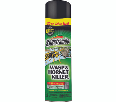 Spectrum HG-95715 Spectracide Wasp and Hornet Killer, Liquid, Spray Application, 20 Ounce Aerosol Can