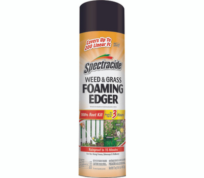 Spectrum HG-96182 Spectracide Weed and Grass Foaming Edger, Liquid, Amber, 17 Ounce Bottle