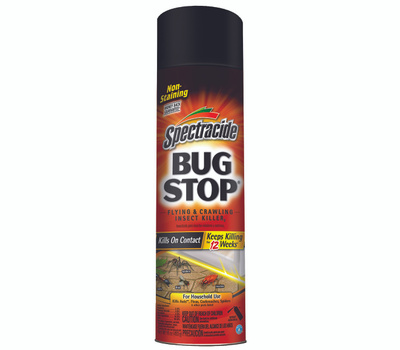 Spectrum HG-96235 Spectracide Bug Stop Insect Killer, Liquid, Spray Application, 16 Ounce Aerosol Can