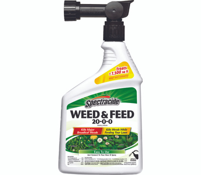 Spectrum HG-96262 Spectracide Weed/Feed Rtu Spray 7500ft 32 Ounce
