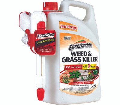 Spectrum HG-96370 Spectracide Weed and Grass Killer, Liquid, Amber, 1.33 Gal Can
