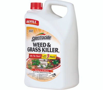 Spectrum HG-96371 Spectracide Weed and Grass Killer, Liquid, Amber, 1.33 Gal Can