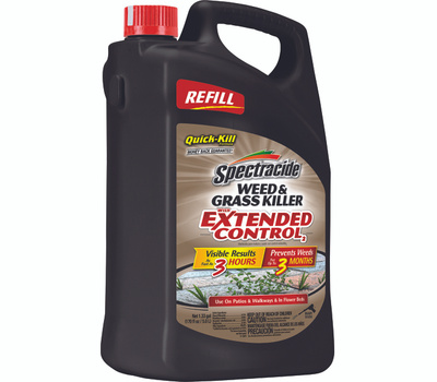 Spectrum HG-96396 Spectracide Weed and Grass Killer, Liquid, Amber, 1.33 Gal