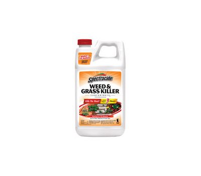 Spectrum HG-96451 Spectracide Weed and Grass Killer, Liquid, Amber, 64 Ounce