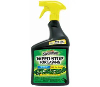 Spectrum HG-96542 Spectracide Weed Stop Weed Killer, Liquid, Spray Application, 24 Fl-Oz