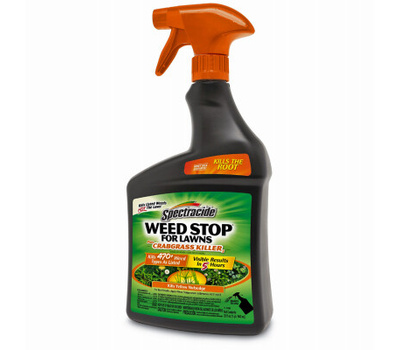 Spectrum HG-96590 Spectracide Hg-96436 Weed and Crabgrass Killer, Liquid, Brown, 32 Ounce Bottle