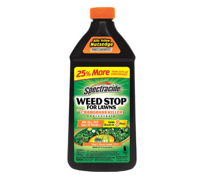Spectrum HG-96624 Spectracide Concentrated Weed Killer, Liquid, Spray Application, 40 Ounce Container