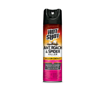 Spectrum HG-96781 Hot Shot Roach & Ant Killer Spray With Floral Scent 17.5 Ounces