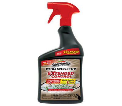 Spectrum HG-96843 Spectracide Weed and Grass Killer, Liquid, Spray Application, 32 Ounce