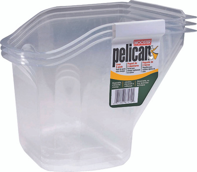 Wooster 8629 Liner For Pelican Hand Held Pail Pack Of 3