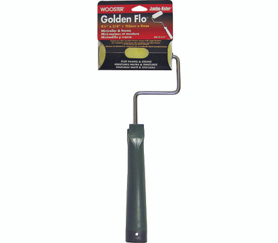 Wooster RR115-4-1/2 Jumbo Koter 4-1/2 Inch Shergrip Frame With 3/8 Inch Pile Golden Flo Cover