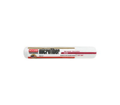 Wooster R523-14 Paint Roller Cover, 3/8 in Thick Nap, 14 in L, Microfiber Cover