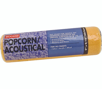 Wooster R234-9 9 Inch 9/16 Inch Pile Popcorn & Acoustical Roller Covers