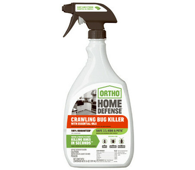 Ortho 0202912 Home Defense Crawling Bug Killer With Essential Oils, Liquid, Spray Application, 24 Ounce Bottle