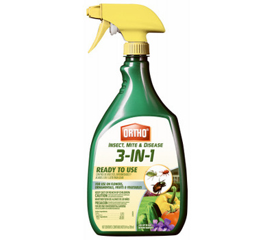 Ortho 0345510 Ready-to-Use Insect Control, Liquid, Spray Application, 24 Ounce Bottle