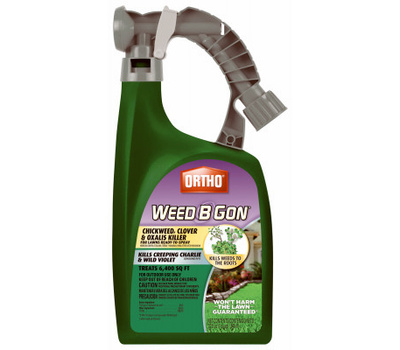 Ortho 0398710 Weed B Gon Weed Killer Concentrate, Liquid, Spray Application, 32 Ounce Bottle