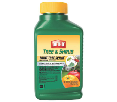 Ortho 0424310 Fruit Tree Spray Concentrate, Liquid, Spray Application, 16 Ounce Bottle