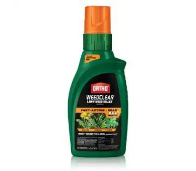 Ortho 0447905 Weedclear 447905 Lawn Weed Killer, Liquid, 32 Ounce Bottle