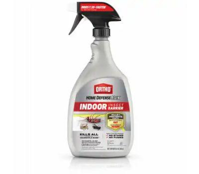 Ortho 4602510 Indoor Insect Barrier, Liquid, Spray Application, Around Doors, Bathrooms, Basements, Kitchens, Windows