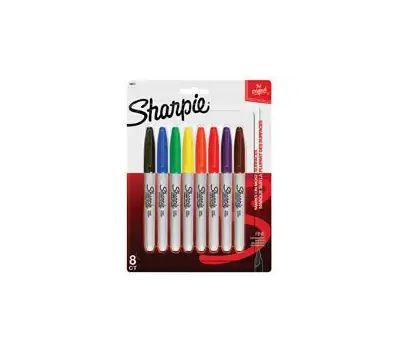 Sanford 30217 Sharpie Assorted Fine Point (Pack Of 8)