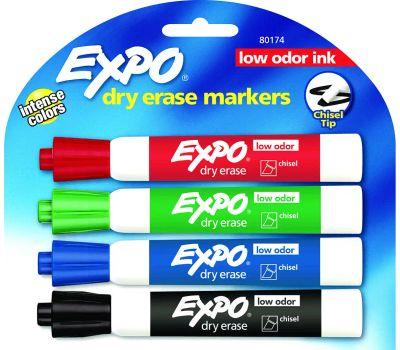 Sanford 80174 Marker Dry Erase Chisel L-Odor