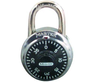 Master Lock 1500T 1-7/8 Steel Combination Padlock Pack Of 2