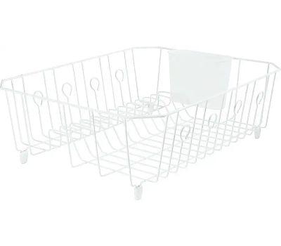 Rubbermaid Home 6032-AR-WHT Dish Drainer 6032 White
