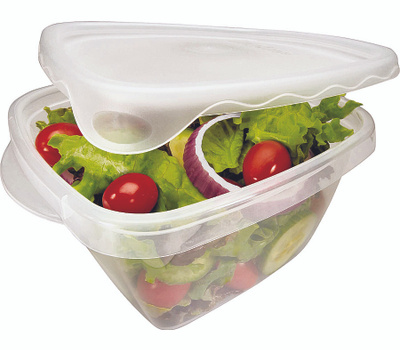 Rubbermaid Home 7F54-RE-TCHIL Take Alongs Container Stor Food Dp 5.2Cup 4 Pack