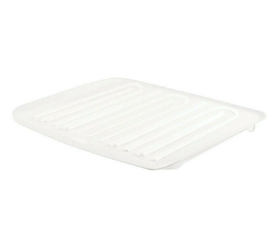 Rubbermaid Home L3-1182-M6-WHT Large Drain Away Tray 1182 White