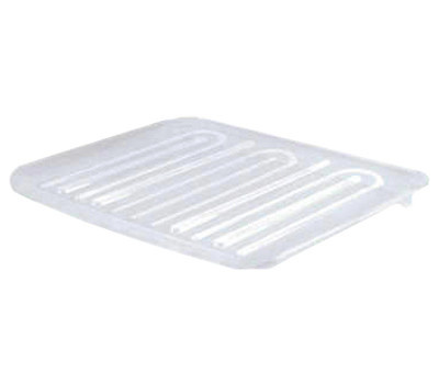 Rubbermaid Home 1182-AR-CLR Dish Drainer Tray Translucent Large