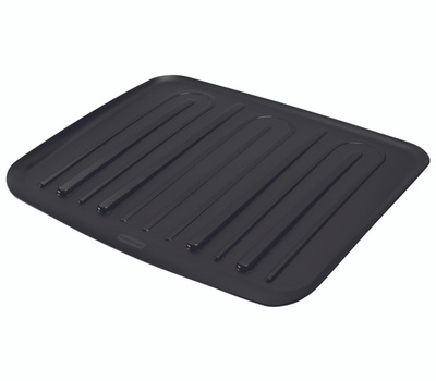 Rubbermaid Home FG1182MABLA Drain Board Large Microban Antimicrobial 18 By 14-3/4 Inch Black