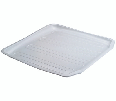 Rubbermaid Home 1180-AR-WHT Small Drainer Tray White