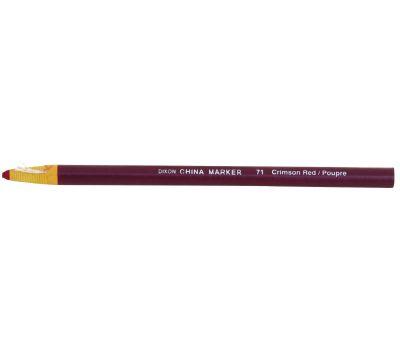 Dixon Ticonderoga 00071 China Marker, Red, 7 in L