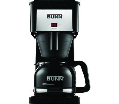 Bunn O Matic GRB 10 Count Black Coffee Brewer