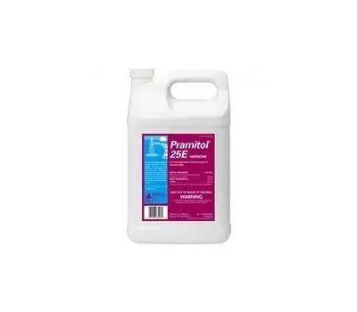 Control Solutions 82000025 Pramitol Herbicide Vegetation Killer, Liquid, Amber/Yellow, 1 Gal