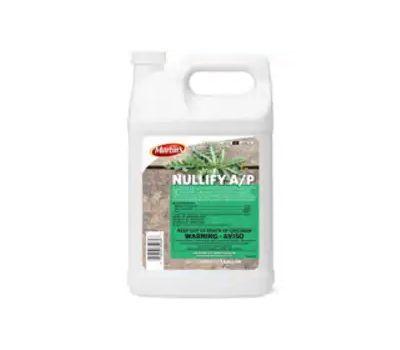Control Solutions 82690040 Nullify a/P Herbicide, Liquid, Dark Blue Clear, 1 Gal