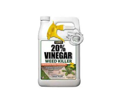 PF Harris VWEED-128 Vinegar Weed Killer, Liquid, Clear, 128 Ounce Plastic Bottle