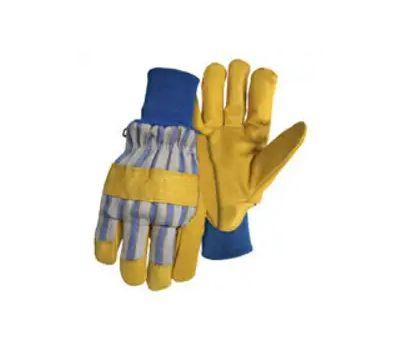 Boss 4341S Gloves Gr Pigskin Knit Small