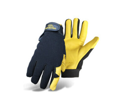 Boss 4187M Gloves, M, Adjustable, Elastic Wrist Cuff, Polyester/Spandex Back, Polyester Lining