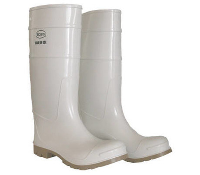 Safety Works 2PP392411 Sz 11 16 Inch Wht Pvc Boot