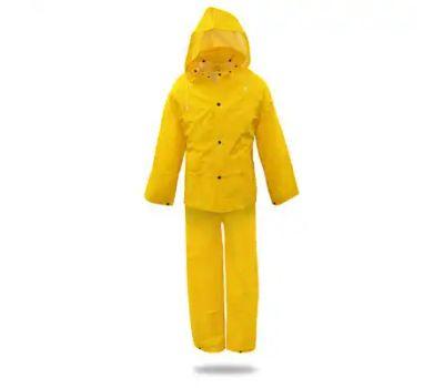 Boss 3PR0300YX Suit Rain Pvc Yellow 0.35mm Xl