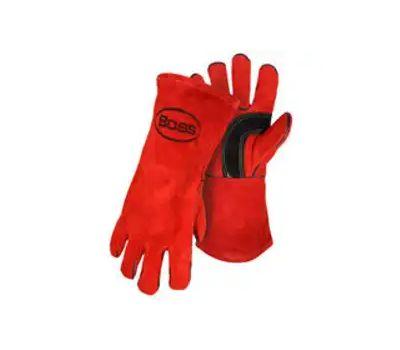 Boss 4096 Gloves Welder Split Lthr Large